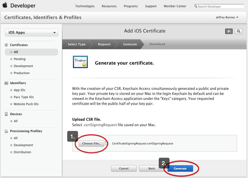 Foolproof Way To Create Adhoc Certificates Installr Help