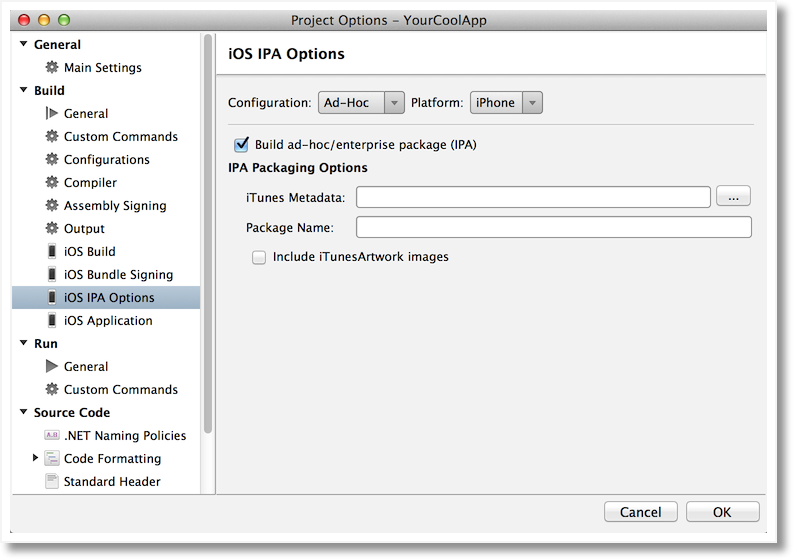 how to create ad hoc certificate in ios